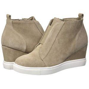Blondo Gatsby Waterproof Wedge Sneaker NEW size 10